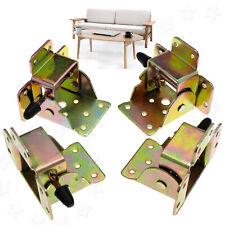 Set of 4pcs Iron Locking Folding Tables Chairs Leg Brackets Hinges Furniture DIY