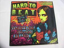 HARD TO BEAT - TWENTY ONE STOOGES KILLERS - 2LP VINYL 1989 EXCELLENT