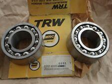 NEW NOS TRW MRC DOUBLE ROW BALL BEARING 5307 (2 Bearings) 5307ABEC1 0001