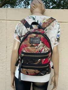 MARC JACOBS NEW YORK FLORAL MINI BIKERS BACKPACK