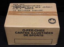 1986-87 O-Pee-Chee Hockey Bulk/Cut Card Vending Case. Still Sealed. 8650 cards.