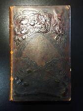 Vie de Saint Martin, Rene des Chesnais, Rare Art Nouveau Binding, 1st. Ed., 1897
