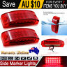 2X Red 21 LED Tail Lights Ute Trailer Caravan Truck Boat Stop Reverse Indicator