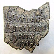 1915 CLEVELAND AUTO SHOW Ohio collar stud +