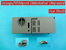 Omega, Whirlpool Dishwasher Spare Part Detergent Soap Dispenser - Grey (E49)
