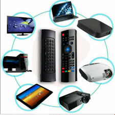 Wireless Air- Mouse Mini Keyboard Remote Control W/ Mic For TV Smart Box PC 2.4G