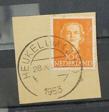 Nederland (A1641) - kortebalk Heukelum (Z.H.) op NVPH 520