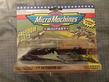 RARE LOT MICRO MACHINES FREEDOM FORCE SKYFIGHTER RANGERS #9 F-14 B-1 SR-71 MOC