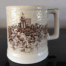 BrentLeigh Ware Windsor Castle beer stein, drinking mug