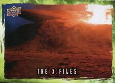 X Files UFOs & Aliens Sticker Card S-51 The Red And Black - Resistance Fighter