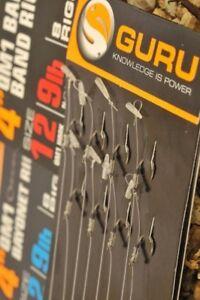 "GURU QM1 Speed Stop Rigs 4"" and 15"", Various. Free Postage"