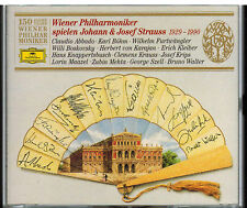 Wiener Philharmoniker spielen Johann & Josef Strauss, 1929-1990 2 CD 1992 BMG