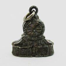 Nice Silver Clock charm 3 grams