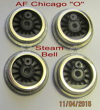 "American Flyer Chicago ""O"" gauge, Steam Wheel Bell Ringer Set, (4) (NEW)"
