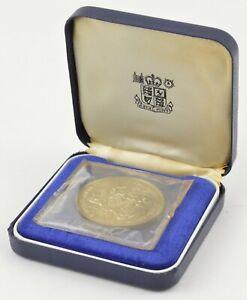 1970 Barbados $4 - FAO - With Royal Mint Display Box *596