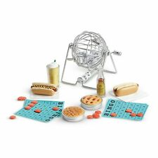 American Girl Melody's Block Party Set Bingo Game Pie Hot Dogs NEW retired