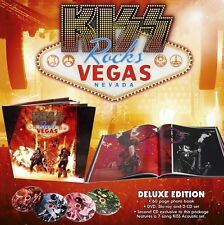 Kiss: Rocks Vegas - live cd + dvd + blu ray + 64 page book + acoustic cd deluxe