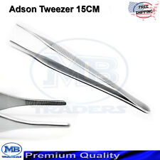 Adson Tweezers Thumb Forceps Tissue Dissection Surgical Suturing Dental Tweezers
