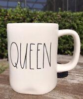 RAE DUNN Mug QUEEN Cup Coffee Farmhouse Gift Home Decor