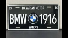 BMW GERMAN BAVARIAN LICENSE PLATE