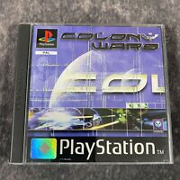 Colony Wars PS1 PlayStation 1 PAL Game Complete Black Label Psygnosis
