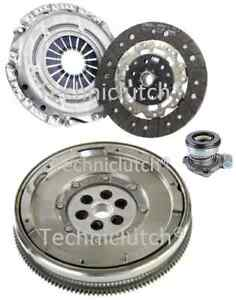 DUAL MASS FLYWHEEL AND CLUTCH KIT WITH CSC FOR VAUXHALL SIGNUM 2.2I 5 SPEED
