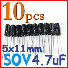 10 x Electrolytic Capacitor 100uF 50V 6.5x11mm UK Seller