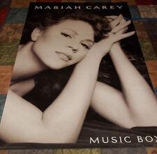"RARE Vintage 1993~ MARIAH CAREY Music Box ~ Huge ~Columbia Promo Poster 24""x 36"""