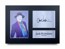 Jack Nicholson Signed Pre Printed Autograph Photo Gift For a Batman Fan