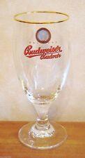 Budweiser Budvar Cervoise Czech Stemmed 2/3 Pint Glass - Brand New