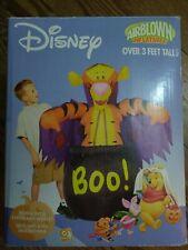 Disney Gemmy Tigger Inflatable Halloween Vampire Airblown  3 FT 2004  New Sealed