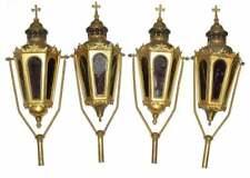 Lanterns Professional Candle, French Church Gilt, Vintage /  Antique,Gorgeous!
