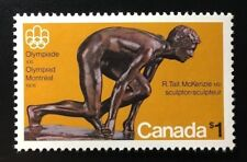 Canada #656 MF MNH, Olympic Sculptures - The Sprinter Stamp 1975