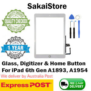 Digitizer Touch Screen Front Glass For Apple iPad 6th Gen 2018 A1893 & A1954