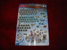 Vintage Mega Bloks Dragons Krystal Wars franqueo