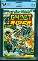Ghost Rider #3 CBCS NM 9.4 White Pages Marvel Comics