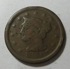 1851 Large Cent (#710G)
