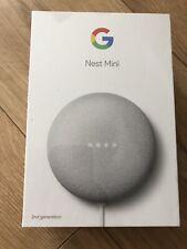 Google Nest Mini (2nd Generation) Smart Speaker - NEW SEALED