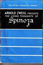 Arnold Zweig Presents the Living Thoughts of Spinoza (hardcover 3rd edition)
