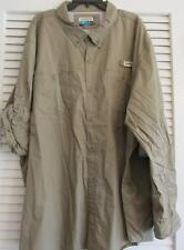 PADRE ISLAND FISHING SHIRT L/S TIMBERWOLF TAUPE 4XL  (8)