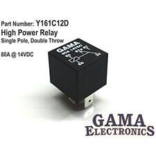 Gama Electronics High Power 80 Amp Relay Single Pole, Double Throw Spdt