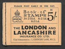 BC4 5/- 1936 Edward VIII Booklet - advert 'Dubarry' Free Sample