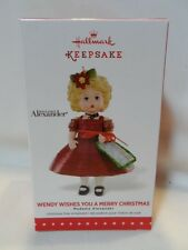 2015 Hallmark Keepsake Ornament Wendy Wishes You A Merry Christmas Madame 20 B19