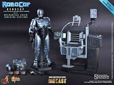 Hot toys Robocop Diecast With Mechanical Chair figure docking Station 1/6