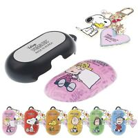 PEANUTS Words Snoopy for Galaxy Buds / Buds Plus Hard Case with Snoopy Key Ring