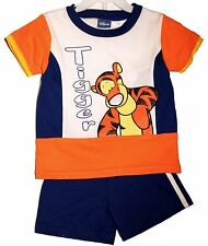4T TIGGER SHORTS SET Disney Winnie the Pooh Toddler Boys Cute Play Clothes NEW