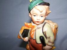 Vintage Friedel READY FOR SCHOOL West Germany Bavaria Figurine Statue -HTF