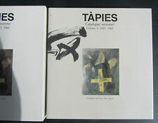 TAPIES CATALOGUE RAISONNÉ - VOLUME 1 -1943-1960 /AGUSTI /KÖNEMANN 1999