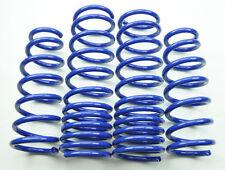 "1.8""/1.5"" Drop Blue Suspension Lowering Springs Kit for Honda Accord 03-07"