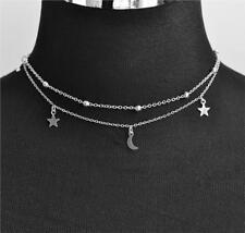 New Pendant Silver Gold Chain Choker Chunky Statement Bib Necklace Jewelry Charm